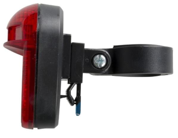 Bicycle Gear Led achterlicht met reflector 7 x 4 cm