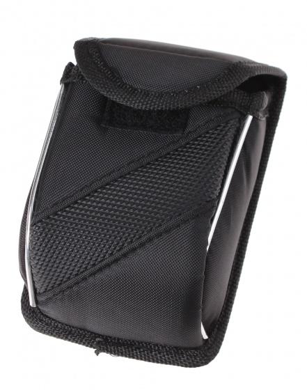 Bicycle Gear fietsstuurtasje 12 cm zwart