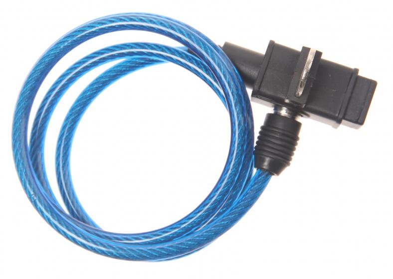 Bicycle Gear kabelslot 1000 x 6 mm blauw