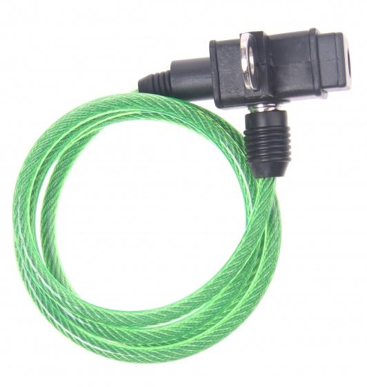 Bicycle Gear kabelslot 1000 x 6 mm groen