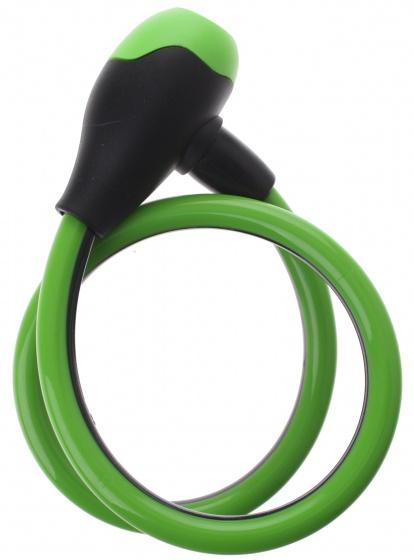 Bicycle Gear spiraalslot 650 x 12 mm zwart/groen
