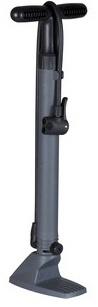 Bicycle Gear vloerpomp ABS zwart 49 x 7 x 18 cm grijs