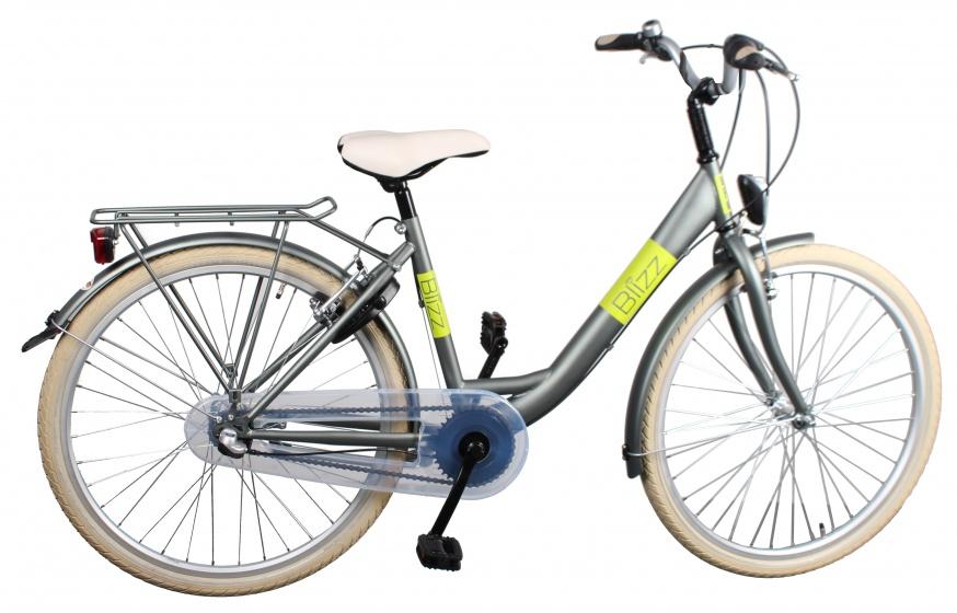 Bike Fun Blizz 24 Inch 39 cm Meisjes 3V V Brake Matgroen