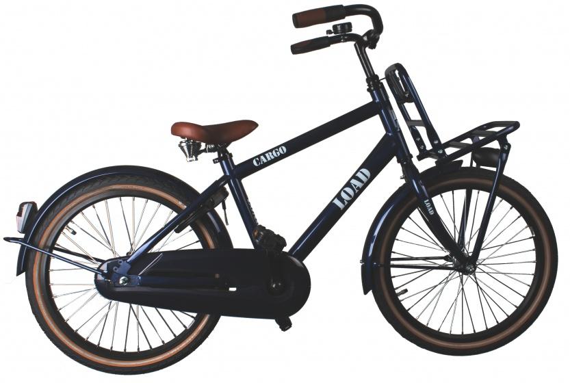 Bike Fun Cargo 20 Inch 33 cm Jongens Terugtraprem Zwart