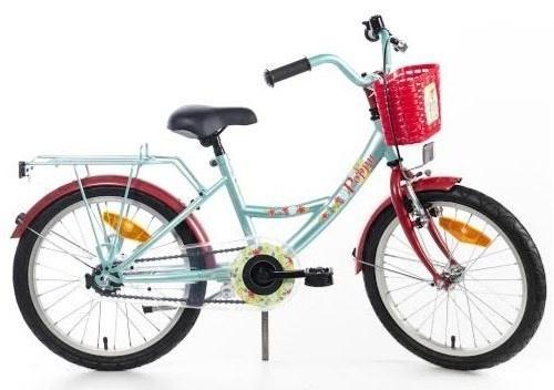 Bike Fun Poppy 18 Inch 29 cm Meisjes Terugtraprem Turquoise