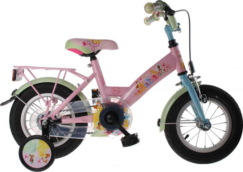 Bike Fun Princess 12 Inch Meisjes Terugtraprem Roze