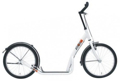 Bike Fun step 20 Inch Unisex V Brake Wit/Zwart