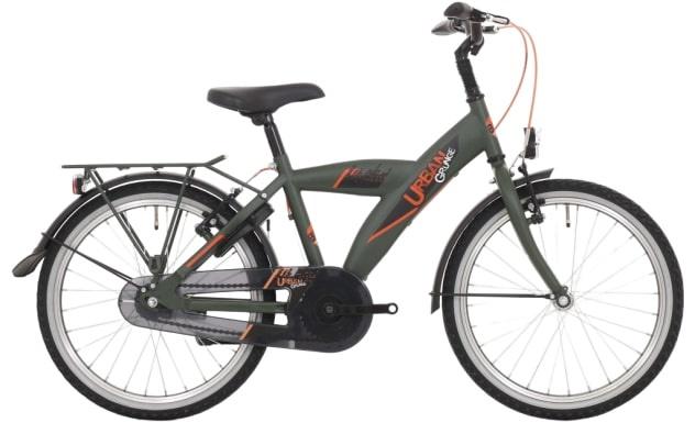 Bike Fun Urban 26 Inch 43 cm Jongens 3V Terugtraprem Donkergroen