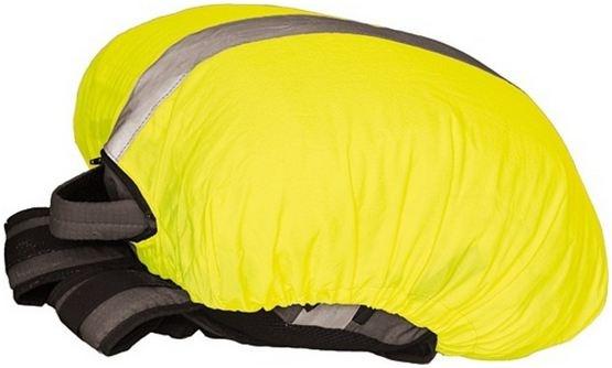 4 Act regenhoes 44 x 35 cm geel