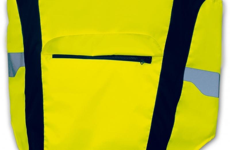 4 Act Veiligheidsvest Unisex Geel Maat XL