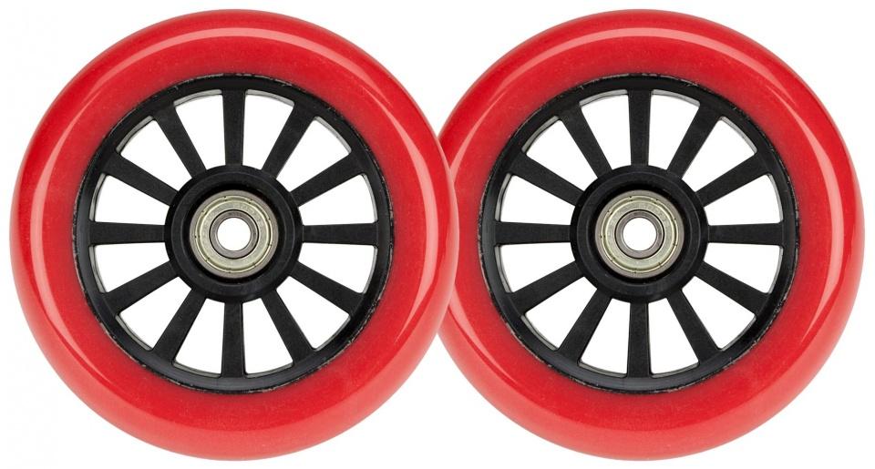 Black Dragon wielen voor stuntscooter 2 stuks rood 100 mm
