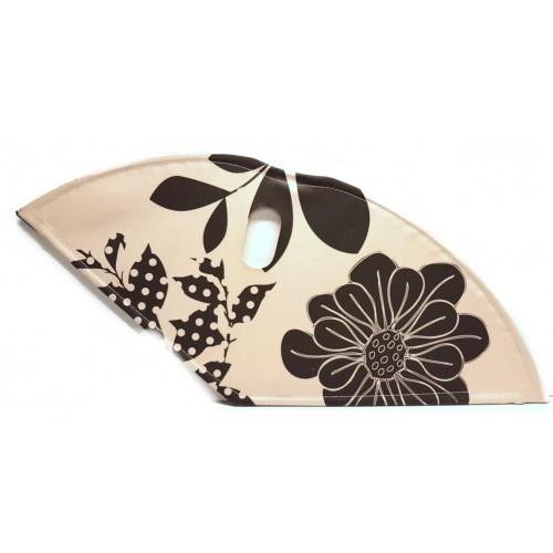 BLS jasbeschermerset lakdoek 28 inch 57 cm bloemen crème