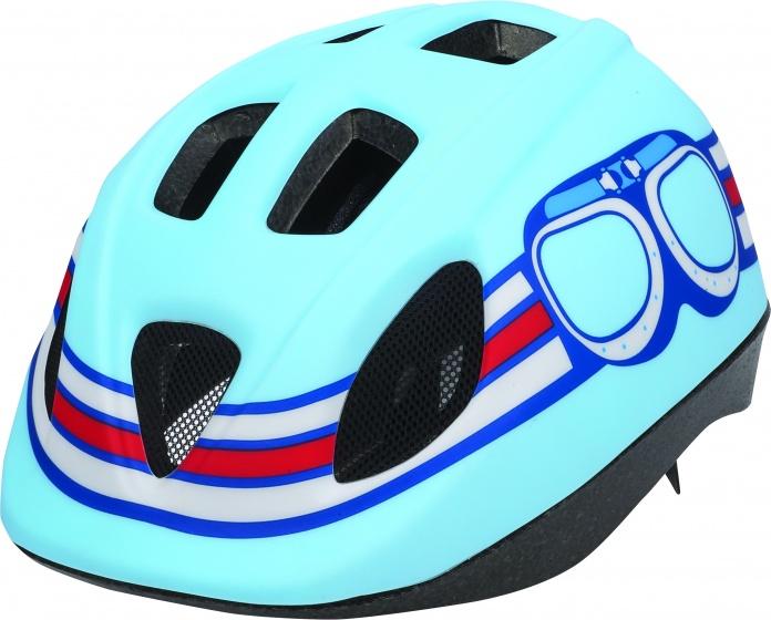 Bobike fietshelm Pilot S jongens blauw 52 56 cm