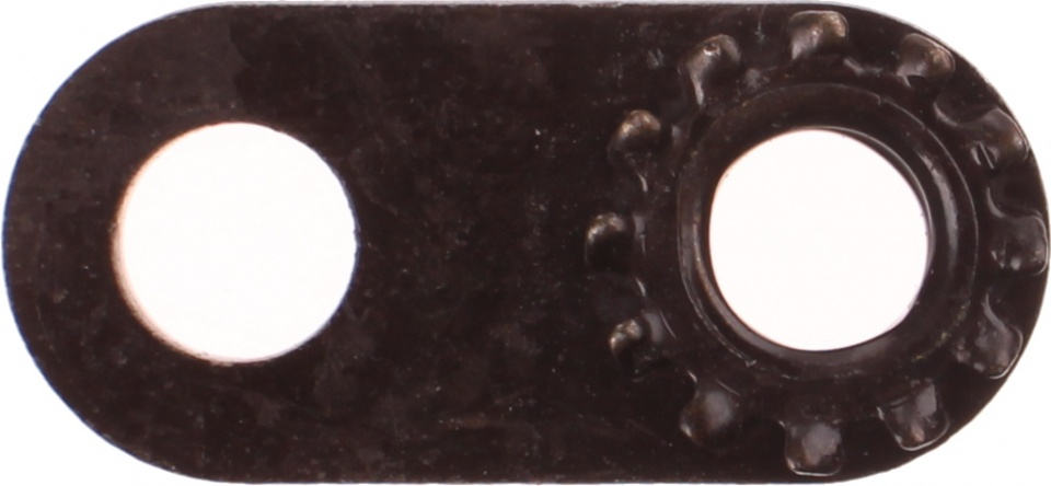 Bofix dynamohaak verlenger zwart per stuk