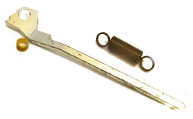 Korting Bofix Hevel Met Veer Voor Bandentang 13 Cm Metaal Zilver