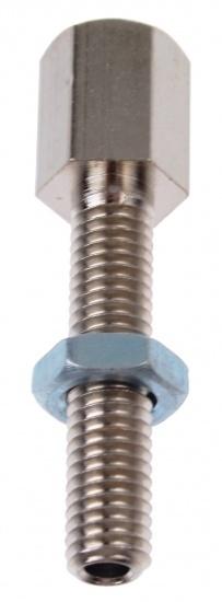TOM Kabelspanner M5 Staal Zilver 12 Stuks (241105)