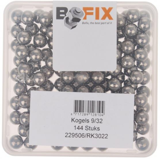 Bofix Kogels 9/32 Inch Per 144 Stuks