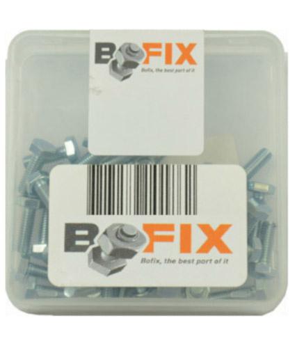 Bofix zeskantbouten M5 x 10 mm 25 stuks