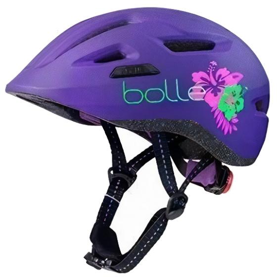 Boll� fietshelm Stance junior 47 51 cm paars/groen mt XS