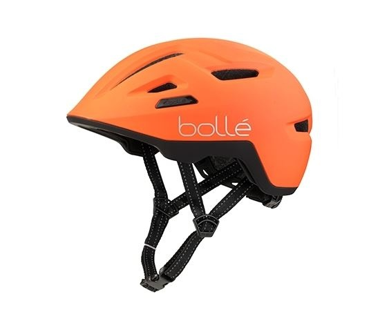 Boll� fietshelm Stance oranje unisex maat 59 62