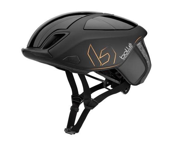 Bollé fietshelm The One Premium zwart unisex maat 51 54