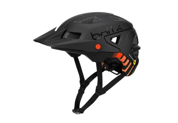 Bollé fietshelm Trackdown Mips zwart/oranje maat 51 54