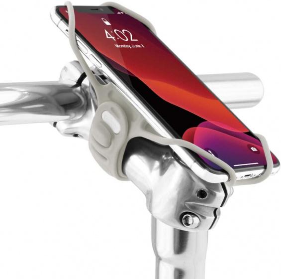Bone Sport telefoonhouder Bone Sport Tie Pro 3 fiets grijs