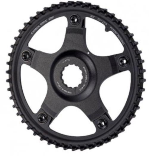 Bosch tandwiel Drive CDX 55 tanden 43,7 mm carbon zwart