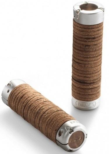 Brooks Handvat Leder 130mm PRE AGE Verstelbaar Per Paar