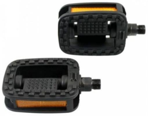 B�chel pedalen set 9/16 inch stadsfiets zwart