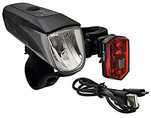 B�chel verlichtingsset Osram USB 15/30 lux wit/rood