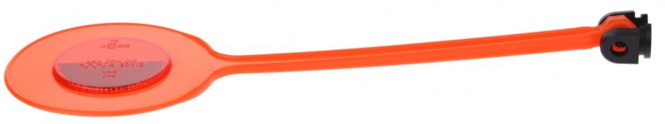 Busch + Müller Afstandhouder Met Reflector 32 cm Oranje