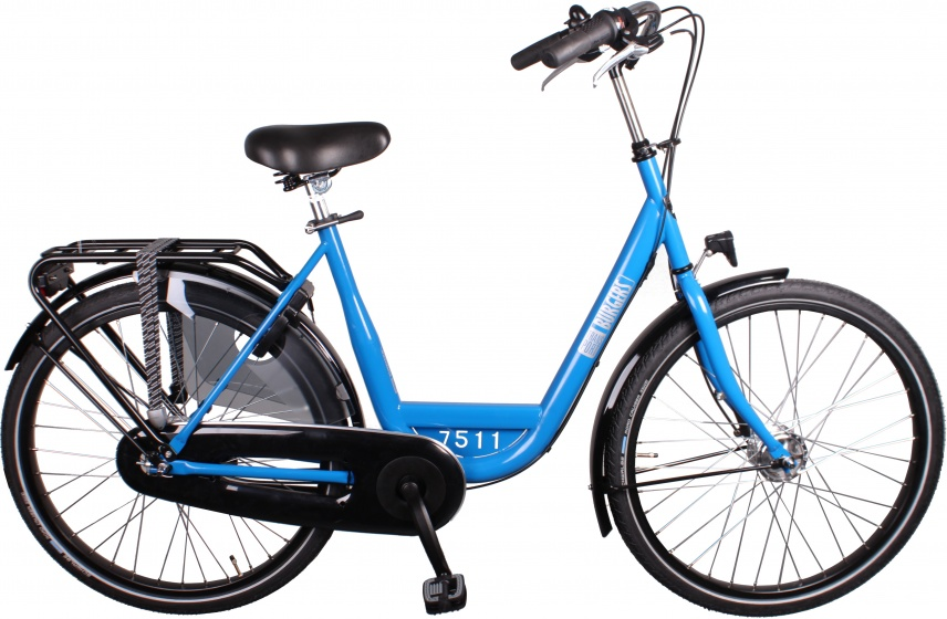 Burgers ID Personal 26 Inch 50 cm Dames 3V Rollerbrakes Blauw