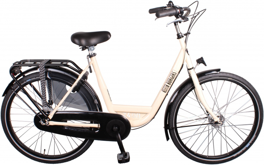 Burgers ID Personal 26 Inch 50 cm Dames 3V Rollerbrakes Creme