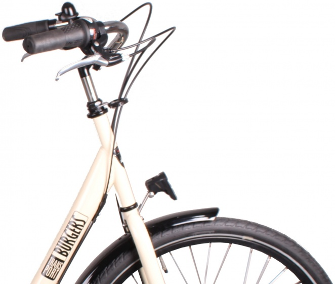 Burgers ID Personal 26 Inch 50 cm Dames 3V Rollerbrakes Cr�me