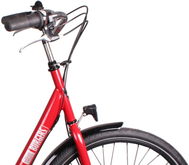 Burgers ID Personal 26 Inch 50 cm Dames 3V Rollerbrakes Rood
