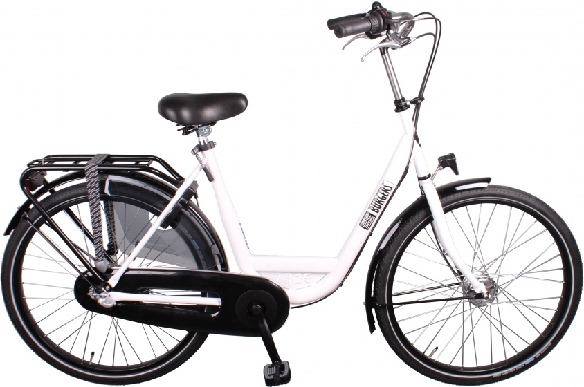Burgers ID Personal 26 Inch 50 cm Dames 7V Rollerbrakes Wit