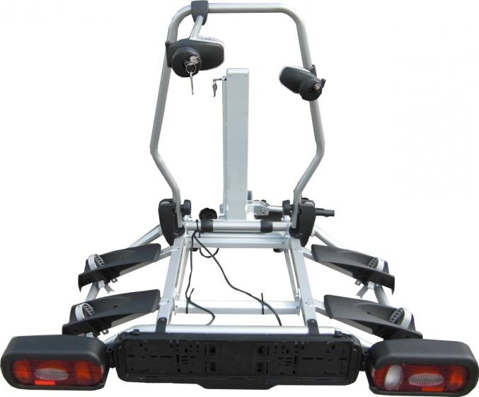ErgoMatic fietsendrager met lift voor 2 fietsen zwart