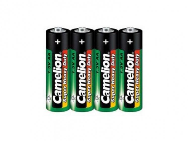 Camelion batterijen AA LongLife 1.5V groen/zwart 4 stuks