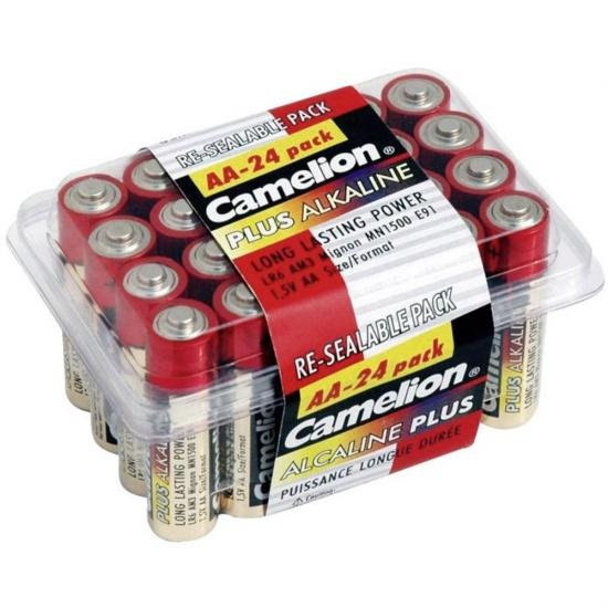 Camelion Batterijen Penlite Alkaline AA LR6 24 stuks
