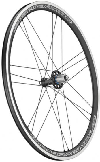 Campagnolo achterwiel Scirocco QR 28 inch 35 x 22 mm alu zwart