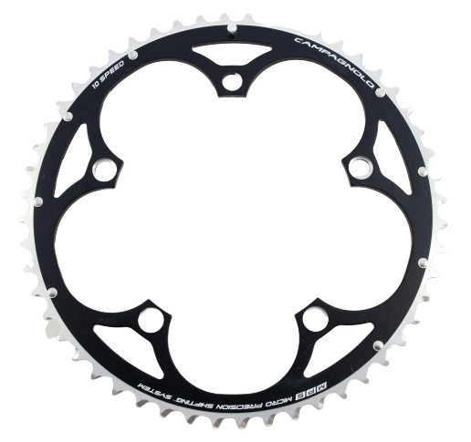 Campagnolo kettingblad Centaur Compact 52T 10S 135 mm zwart