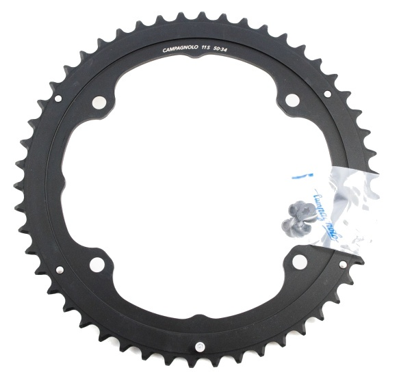 Campagnolo kettingblad Potenza 50T 11S 145 mm zwart