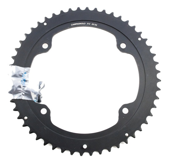 Campagnolo kettingblad Potenza 52T 11S 145 mm zwart