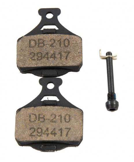 Campagnolo schijfremblokken DB210 zwart