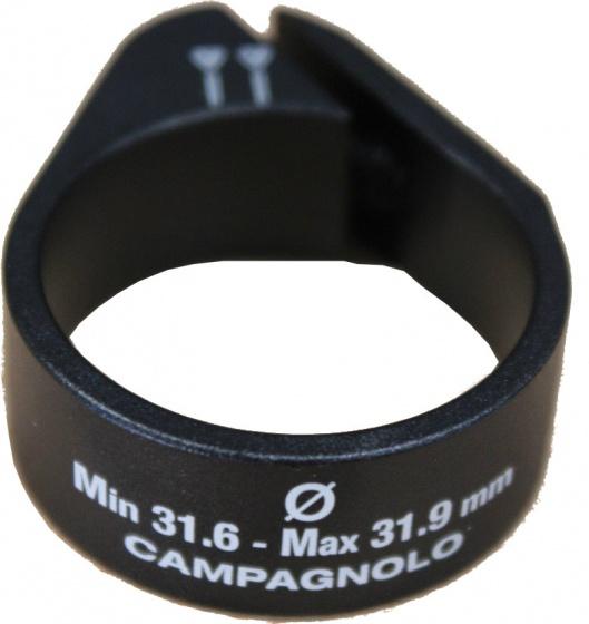Campagnolo zadelklempen 31.9 mm aluminium zwart