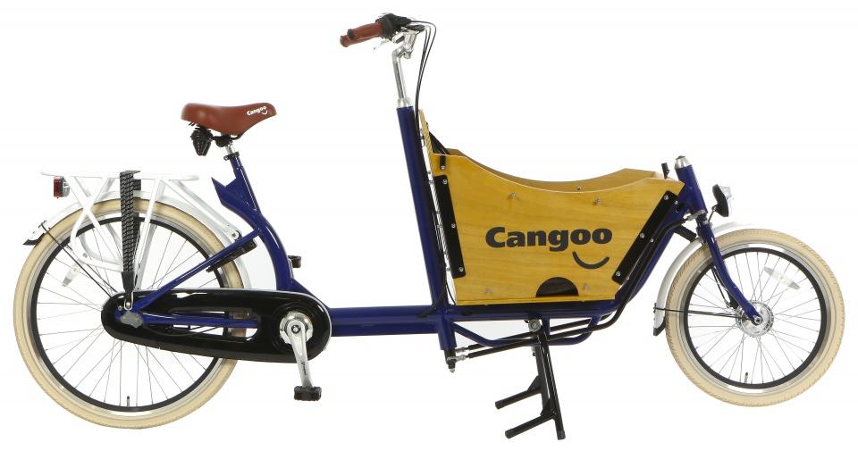 Cangoo - Downtown N3 24 Inch 42 Cm Unisex 3v Terugtraprem Blauw