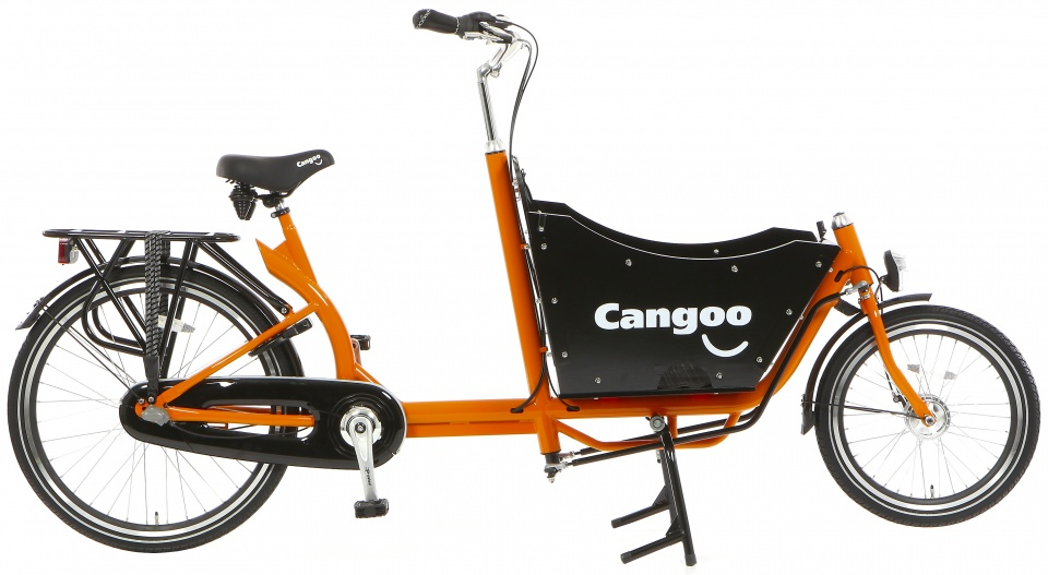 Cangoo - Downtown N3 24 Inch 42 Cm Unisex 3v Terugtraprem Oranje