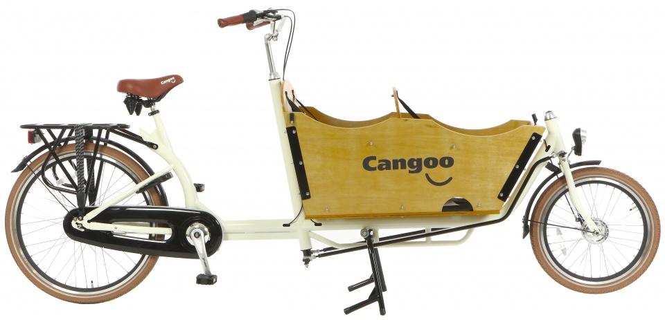 Cangoo - Downtown Plus N7 24 Inch 42 Cm Unisex 7v Terugtraprem Creme