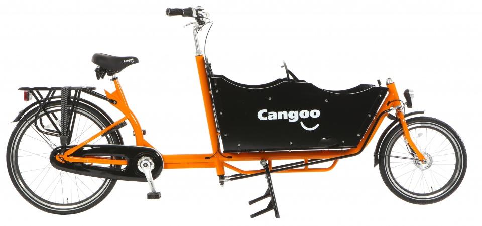Cangoo - Downtown Plus N7 24 Inch 42 Cm Unisex 7v Terugtraprem Oranje